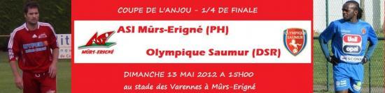 ASI Mûrs-Erigné(PH) - Olympique Saumur(DSR)
